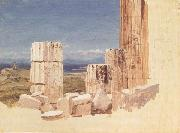 Frederic E.Church Broken Colunms,View from the Parthenon,Athens oil painting picture wholesale