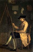 Friedrich Tischbein Self-Portrait at the Easel oil painting picture wholesale