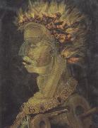 Giuseppe Arcimboldo Fire (mk45) oil painting picture wholesale