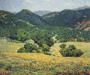 Granville Redmond Southern California Hills,n.d oil painting picture wholesale