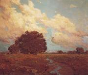 Granville Redmond Trees by a Meadow Stream oil painting picture wholesale