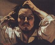 Gustave Courbet Self-Portrait The Desperate Man oil painting picture wholesale