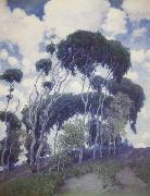 Guy Rose Laguna Eucalyptus oil painting picture wholesale