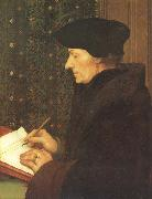 Hans holbein the younger Erasmus of Rotterdam (mk45) oil painting picture wholesale