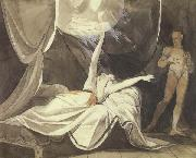 Henry Fuseli Kriemhilde Sees the Dead Sikegfried in a Dream (mk45) oil painting artist