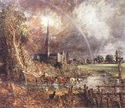 John Constable Salisbury Cathedral from the Meadows oil painting picture wholesale