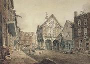 John varley jnr Market Place ,Leominster (mk47) oil painting picture wholesale