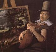 Paul Bril Self-Portrait oil painting artist