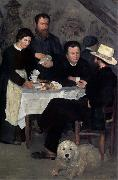 Pierre Auguste Renoir At the Inn of Mother Anthony oil painting artist