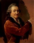 Pompeo Batoni Self-Portrait oil painting artist
