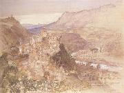 Samuel Palmer The Village of Papigno on the Nar,between Terni and thte Falls oil painting picture wholesale