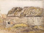 Samuel Palmer A Barn with a Mossy Roof oil painting picture wholesale
