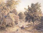 Samuel Palmer A Farmyard near Princes Risborough,Bucks oil painting picture wholesale