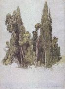 Samuel Palmer The Cypresses at the Villa d'Este oil painting picture wholesale