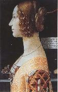 Sandro Botticelli Domenico Ghirlandaio,Portrait of Giovanna Tornabuoni oil painting picture wholesale