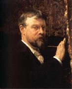Sir Lawrence Alma-Tadema,OM.RA,RWS Self-Portrait oil painting picture wholesale