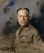 Sir William Orpen Field-Marshal Sir Douglas Haig,KT.GCB.GCVO,KCIE,Comander-in-Chief,France oil painting picture wholesale