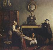 Sir William Orpen A Mere Fracture oil painting artist