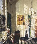 Sir William Orpen The Studio oil painting picture wholesale