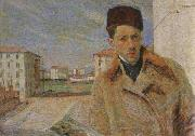 Umberto Boccioni Self-Portrait oil painting picture wholesale