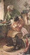 Walter Langley,RI But Men must work and Women must weep (mk46) oil painting picture wholesale