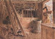 William Henry Hunt,OWS The Outhouse (mk46) oil painting picture wholesale
