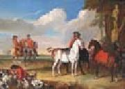 unknow artist Horses and Hunter oil painting picture wholesale