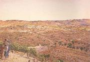 william holman hunt,o.m.,r.w.s The Plain of Rephaim from Mount Zion (mk46) oil painting picture wholesale