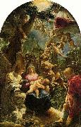 Adam Elsheimer Holy Family with St John the Baptist, oil painting picture wholesale