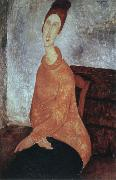 Amedeo Modigliani portrait of jeanne hebuterne oil painting picture wholesale