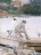 Anders Zorn vagskvalp oil painting picture wholesale