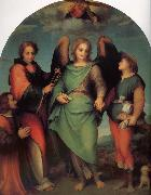 Andrea del Sarto Rafael Angel of Latter-day Saints and the great Leonard, with donor oil painting picture wholesale