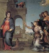 Andrea del Sarto Reported good news oil painting picture wholesale