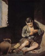 Bartolome Esteban Murillo Small beggar oil painting picture wholesale