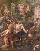 Brun, Charles Le The Martyrdom of st john the evangelist at the porta Latina oil painting picture wholesale