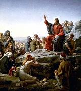 Carl Heinrich Bloch The Sermon on the Mount by Carl Heinrich Bloch oil painting picture wholesale