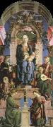 Cosimo Tura virgin and child enthroned oil painting picture wholesale