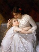 E.Munier Pardon Mama oil painting picture wholesale