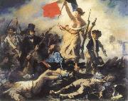 Eugene Delacroix liberty leading the people oil painting picture wholesale