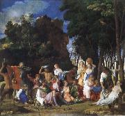 Gentile Bellini Feast of the Gods oil painting picture wholesale