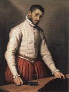 Giovanni Battista Moroni the tailor oil