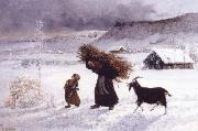 Gustave Courbet The Poor woman of the Village oil painting picture wholesale
