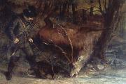Gustave Courbet The German Huntsman oil painting picture wholesale