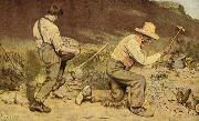 Gustave Courbet Stone Breakers oil painting picture wholesale