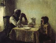 Henry Ossawa Tanner Thanksgiving poor oil painting artist