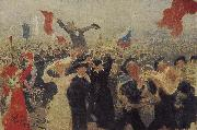Ilia Efimovich Repin Demonstrations oil painting picture wholesale