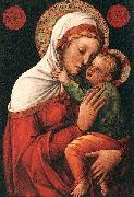 Jacopo Bellini Madonna with child EUR oil