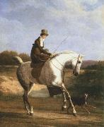 Jacques-Laurent Agasse miss cazenove on a grey hunter oil painting picture wholesale