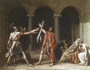 Jacques-Louis  David oath of the horatii oil painting picture wholesale