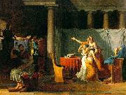 Jacques-Louis David The Lictors Bring to Brutus the Bodies of His Sons oil painting picture wholesale